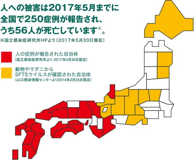 マダニ地図